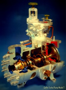 Cross Section of Model T Pump